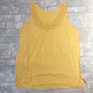 Yellow Dress Barn Top